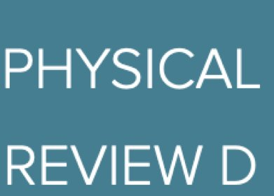 Editor's Choice in Physical Review D